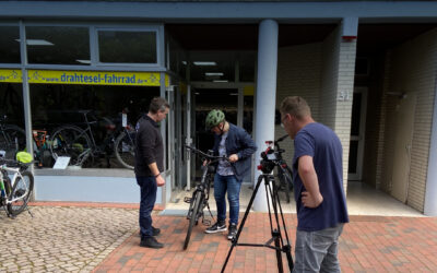 EWA VIDEO produziert Video für Drahtesel aus Bad Schwartau
