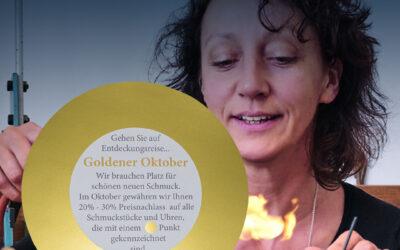 Goldener Oktober bei der Goldschmiede Hardell in Bad Schwartau